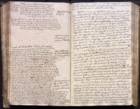The 'commonplace book concerning science and mathematics' of Mary Smith who lived in the remote village of Thorney in the Cambridgeshire fens in the 1760s and 1770s
