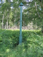 Holme Fen Post in the Fens, Eastern England, lowest point in Britain