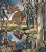 Paul Nash, Oxenbridge Pond, 1928