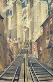 C R W Nevinson, The Soul of the Soulless City, 1920
