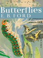 Dust jacket of the first book in the New Naturalist series, E B Ford's Butterflies