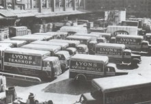 j lyons, cadby hall, hammersmith road, olympia, london, delivery van