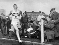roger bannister, athlete, running, oxford, four-minute mile