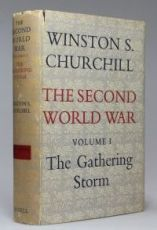 winston churchill, gathering storm, second world war, house of commons, nazi