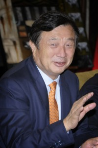 ren zhengfei, huawei, interview, new zealand