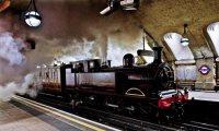 metropolitan railway, london underground, baker street, anniversary