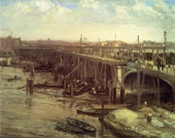 james whistler, artist, westminster bridge, river thames, london