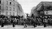 france, paris commune, barricade, communards, versailles