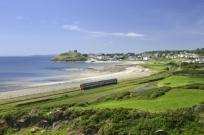 cambrian coast line, criccieth, guinea pig, cost-benefit study, unprofitable railway lines