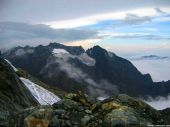 mount speke, ruwenzori mountains, uganda
