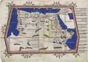 ptolemy, geographia, north africa, mountains of the moon, lunae montes, nile