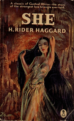 the character of the goddess ayesha in she a history of adventure a novel by h rider haggard Sfe : science fiction encyclopedia : the charismatic, goddess-like female ruler   sequence by h rider haggard, opening with she: a history of adventure   popular fiction, is central, and governs the plots of the ayesha books obvious  echoes of the she character appear in harry collingwood's through.
