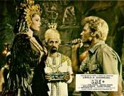 hammer films, she, leo vincey, john richardson, ayesha, ursula andress, bilali, christopher lee