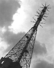 bbc, alexandra palace, london, television, transmitter mast