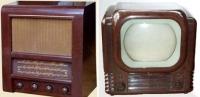 radio rentals radio, bakelite, bush television, coronation, bbc