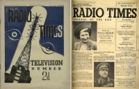 radio times, alexandra palace, transmitter mast, princess elizabeth, queen elizabeth, aircraft carrier eagle