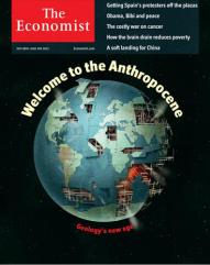 economist magazine, anthropocene