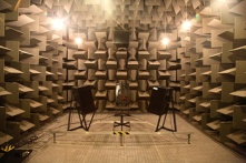 anechoic chamber, salford university, quietest room