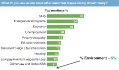 2015 general election, most important issues for voters. ipsos mori survey