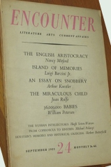 nancy mitford, encounter magazine, english aristocracy, u and non-u