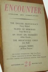 nancy mitford, encounter magazine, english aristocracy, u and non-u