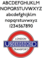 edward johnston, johnstone typeface, london underground, roundel