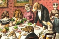 dog's dinner party, harrison weir, routledge