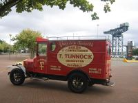 tunnocks delivery van, bothwell, uddingston