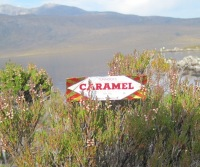 tunnocks caramel wafer, lochan fada, wester ross, fisherfield forest