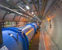 large hadron collider, accelerator ring, beam pipe, cern