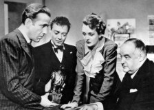 humprey boggart, peter lorre, mary astor, sidney greenstreet, the maltese falcon, macguffin