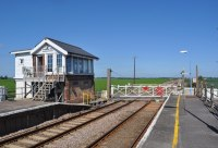 shippea hill station, manually operated level crossing, britains quietest railway station