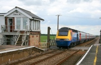 shippea hill station, hst train, britain's quietest railway station