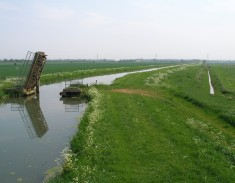 wicken fen, burwell lode, cock up bridge, national trust, dig for victory, peat shrinkage