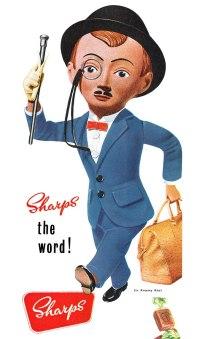 sharp's super-kreem toffee, sir kreemy knut
