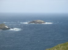 out stack, ootsta, da shuggi, britain's most northerly point, hermaness, unst