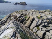 out stack, muckle flugga, hermaness, unst, britain's most northerly point.