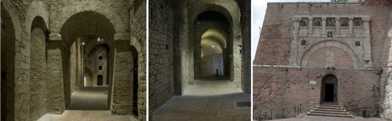 rocca paolina, perugia, umbria, etruscan, porta marzia