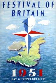 festival of britain, abram games, festival emblem, festival star