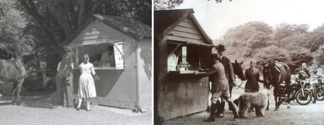 brads tea hut, bikers tea hut, epping forest, dave twitchett, john betjeman, candida lycett green