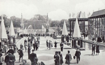 grand vista, festival pleasure gardens, john piper, osbert lancaster, festival of britain