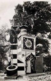 guinness clock, festival pleasure gardens, festival of britain