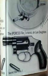 len deighton, ipcress file, spy novelist