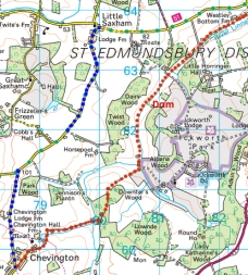 ickworth, river linnet, chevington way, hargrave way