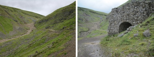 barytes, lead drift mine, dufton fell, dufton pike, rundale beck, threlkeld side
