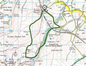 smardale gill walk map