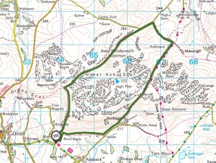 great asby scar walk map