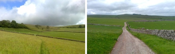 great asby scar, knott lane, orton, sunbiggin farm, wainwright coast to coast