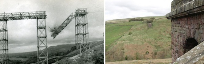 belah valley, belah viaduct demolition, earnest marples, stainmore line, westmorland