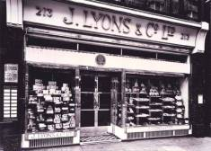 j lyons tea shop